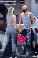 MILEY CYRUS Shopping at CVS in Calabasas 06/12/2020