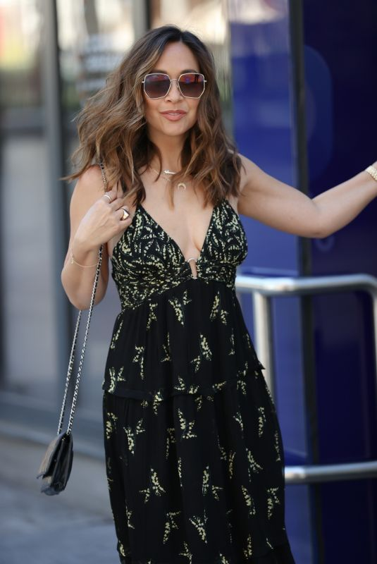 MYLEENE KLASS Arrives at Global Offices in London 06/23/2020
