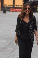 MYLEENE KLASS Arrives at Global Radio in London 06/19/2020
