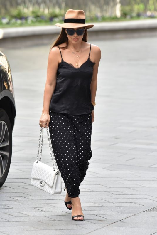 MYLEENE KLASS Arrives at Smooth Radio in London 06/26/2020