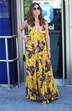 MYLEENE KLASS in a Summer Dress Arrives at Smooth Radio in London 06/25/2020