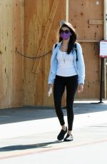 NINA DOBREV Out and About in Los Angeles 06/27/2020