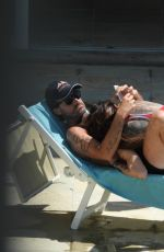 NINA MORIC in Bikini at a Pool in Santa Margherita 06/25/2020