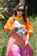 OLIVIA WILDE Out and About in Los Angeles 05/31/2020