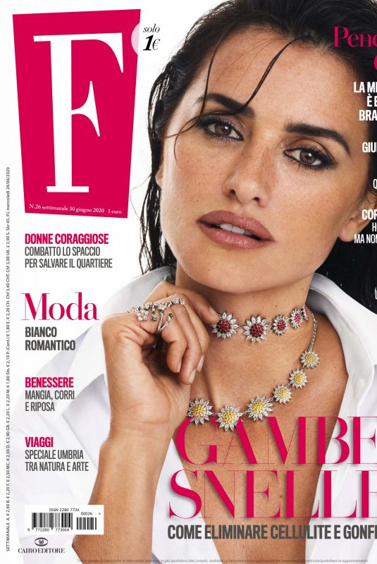 PENELOPE CRUZ in F Magazine, June 2020