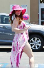PHOEBE PRICE Out and About in Studio City 06/15/2020