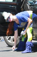PHOEBE PRICE Shopping at CVS Pharmacy in Los Angeles 06/28/2020