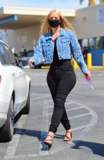 Pregnant IGGY AZALEA Out and About in Hollywood 06/27/2020