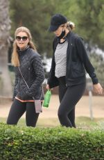 Pregnant KATHERINE SCHWARZENEGGER and MARIA SHRIVER Out in Santa Monica 06/24/2020