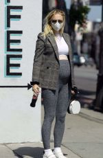 Pregnant SOPHIE TURNER and Joe Jonas Out in Los Angeles 06/17/2020