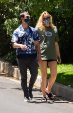Pregnant SOPHIE TURNER and Joe Jonas Out in Los Angeles 06/24/2020