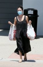 RACHEL BILSON Out Shopping in Los Angeles 06/19/2020