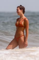 RACHEL COOK in Bikini on the Beach in Tulum 06/28/2020