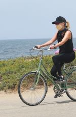 REESE WITHERSPOON Out Riding a Bike in Malibu 05/31/2020