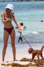 ROOSMARIJN DE KOK in Bikini at a Beach in Miami 06/10/2020