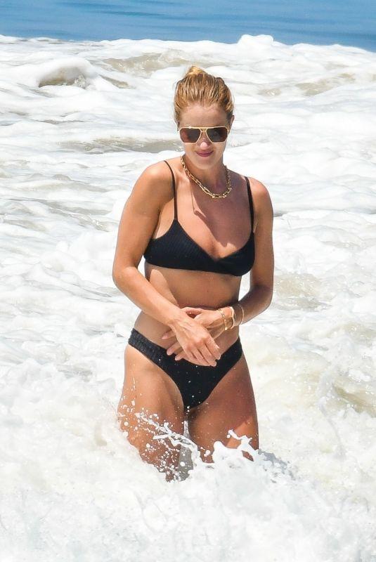 ROSIE HUNTINGTON-WHITELEY in Bikini at a Beach in Malibu 06/14/2020
