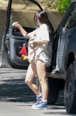 SCOUT WILLIS at Coffee Bean & Tee in Los Feliz 06/12/2020