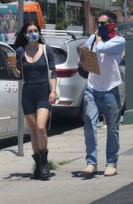 SCOUT WILLIS Out for Coffee in Hollywood 06/14/2020