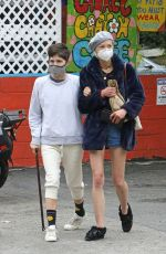 SELMA BLAIR and JAIME KING at Laurel Canyon Country Store in Hollywood Hills 06/18/2020