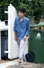SELMA BLAIR Take Out Trash on Her Birthday in Los Angeles 06/23/2020