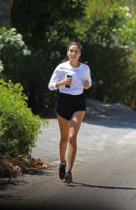 SHANINA SHAIK Out Jogging 06/02/2020