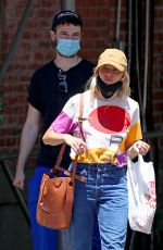 SIENNA MILLER and Tom Sturridge Out in New York 06/23/2020