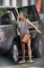 SIENNA MILLER Out and About in New York 05/31/2020