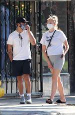 SOPHIE TURNER and Joe Jonas Out in Los Angeles 06/21/2020