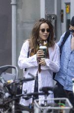 SUKI WATERHOUSE and Robert Pattinson Out in London 06/18/2020