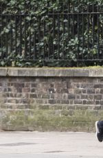 SUKI WATERHOUSE Out Jogging in London 06/11/2020