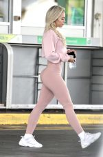TAMMY HEMBROW in Tights at a Gas Station in Gold Coast 06/30/2020