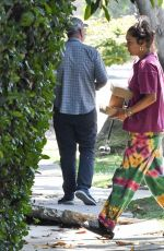 VANESSA HUDGENS Gets Takeout in Los Angeles 06/22/2020