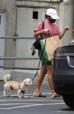 VANESSA HUDGENS Grabbing Dog Food in Hollywood 06/29/2020