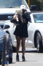 VANESSA HUDGENS Out with Her Dog in Los Angeles 06/26/2020
