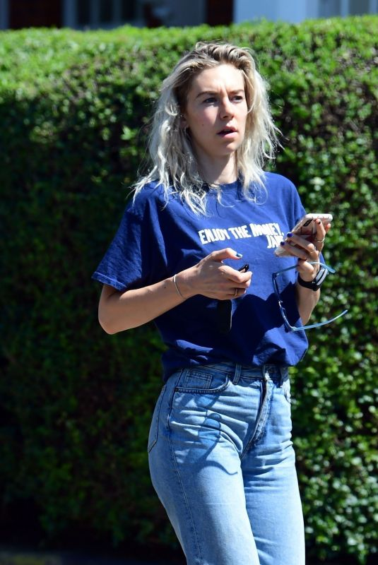 VANESSA KIRBY Out and About in London 06/24/2020