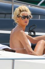 VICTORIA SILVSTEDT in Bikini at a Yacht in Saint Tropez 06/01/2020