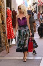 VICTORIA SILVSTEDT Out Shopping in Saint Tropez 05/31/2020