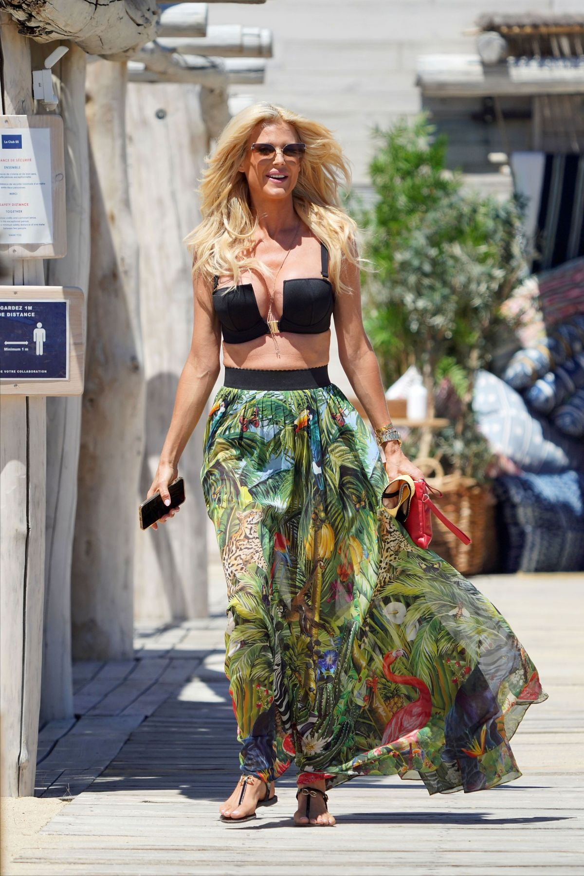 VISTORIA SILVSTEDT Out in St Tropez 06/06/2020 – HawtCelebs