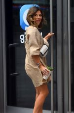 ZOE HARDMAN Arrives at Global Radio in London 06/28/2020