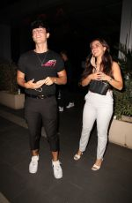 ADDISON RAE Leaves Boa Sestaurant in West Hollywood 07/09/2020