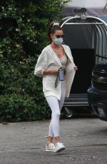 ALESSANDRA AMBROSIO at Bel Air Hotel in Beverly Hills 07/01/2020