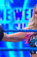 ALEXA BLISS at WWE Smackdown in Orlando 07/10/2020