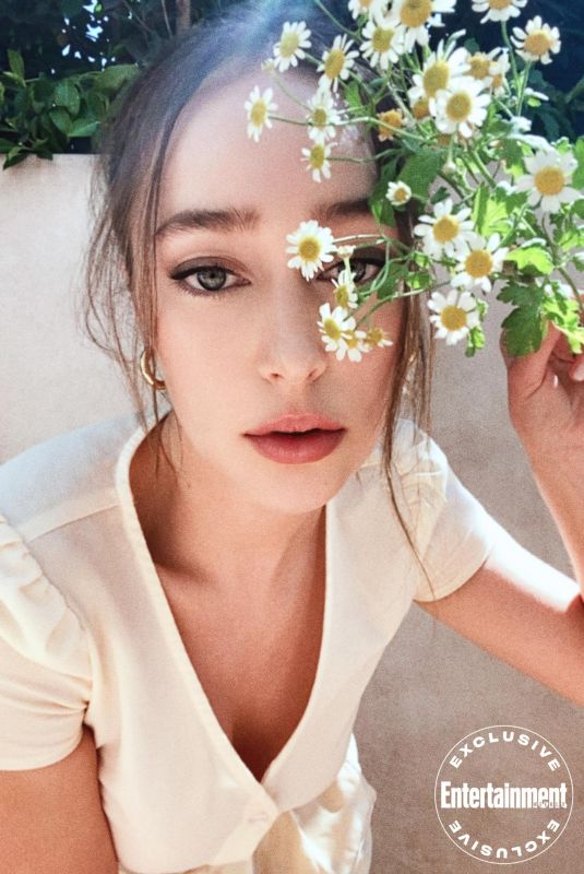 ALYCIA DEBNAM-CAREY for Entertainment Weekly Comic-con at Home Portraits, July 2020