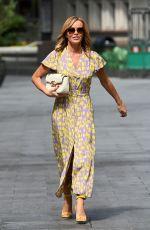 AMANDA HOLDEN Arrives at Global Radio in London 07/13/2020