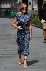 AMANDA HOLDEN Arrives to Global Radio in London 07/07/2020