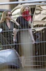 AMBER amd WHITNEY HEARD Arrives Court in London 07/07/2020