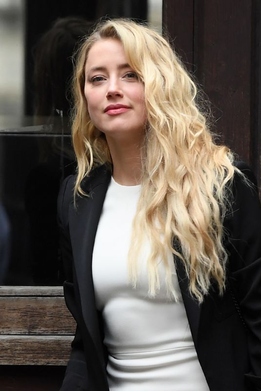 AMBER HEARD Arrives at Royal Courts of Justice in London 07/27/2020