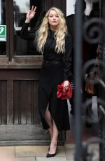 AMBER HEARD Arrives at Royal Courts of Justice in London 07/28/2020
