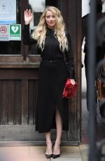 AMBER HEARD at Royal Courts of Justice in London 07/28/2020