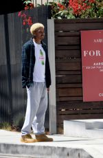 AMBER ROSE and Alexander Edwards Out in Los Angeles 07/25/2020